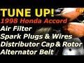 Tune Up & Service - 1998 Honda Accord