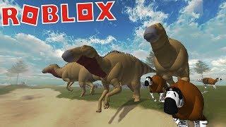 Roblox (Urleben) | Manada de Edmontossauro e Maiassauro | (Gameplay - PT/BR)