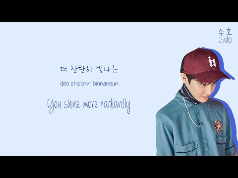 EXO (엑소) - Lucky One Lyrics (Color-Coded Han/Rom/Eng)