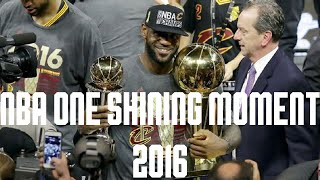One Shining Moment: 2016 NBA Playoffs Edition