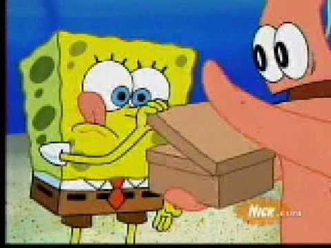 how to make the secret box from spongebob