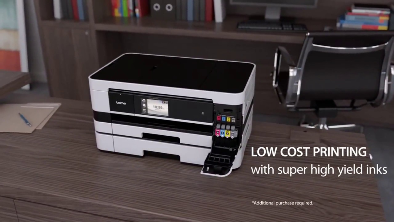 Brother MFC J4710DW Business Smart™ Inkjet All in One at HuntOffice