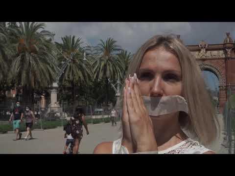 Стены рухнут...акция солидарности, Барселона