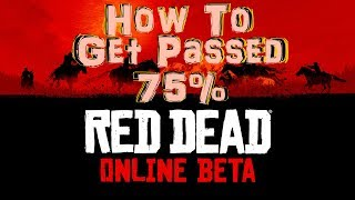 How To Get 100% Story Completion On RDR2 Online (How To Get Above 75%)