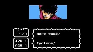 OGT - Captain Tsubasa 2: Super Striker - NES Match Thirty One