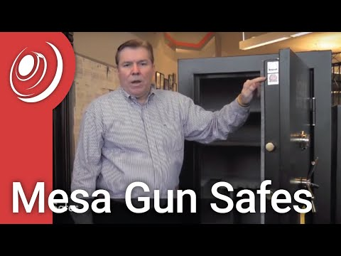 Mesa Gun Safes Video With Dye The Safe Guy