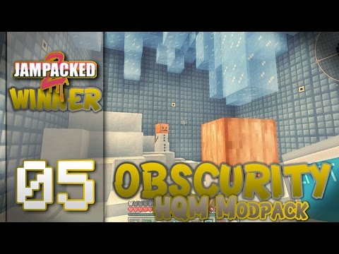 "Minecraft - ""OBSCURITY""- FTB -HQM - ""Visit To the Ice World!"" - EP 05"