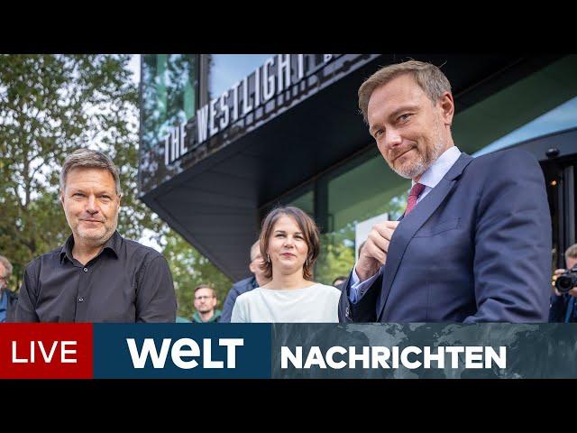 WÜRFEL GEFALLEN: FDP einstimmig für Ampel-Koalitionsgespräche - keine Ämterdebatte   WELT Newsstream