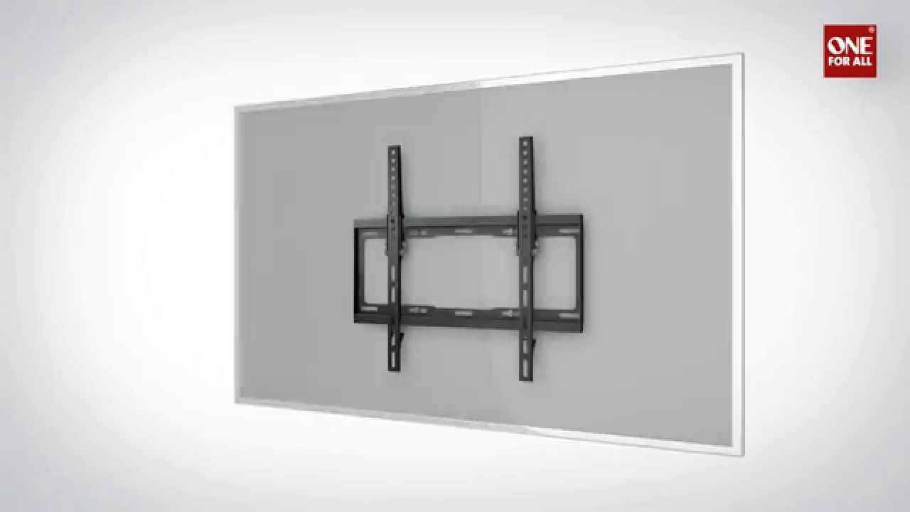 One For All Wm4420 Wall Mount How To Install Instruction
