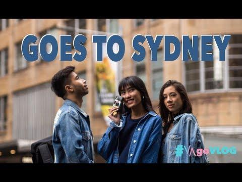 Sydney First Timer with Jennifer, Alika & Bill | #VAgoVLOG eps. 21