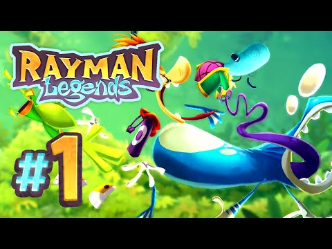 Rayman Legends | The Legend Begins! - 1 (5-Player)