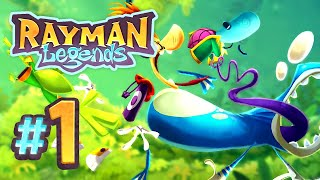 Rayman Legends - 1 - Teensies in Trouble: Once upon a Time (5 Player)