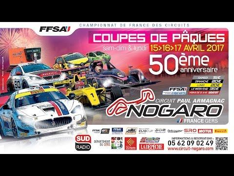Direct Championnat de France FFSA des Circuits : Nogaro (lundi 17 avril matin)