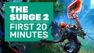 The First 20 Minutes Of The Surge 2 | Surge 2 Gameplay (PC)