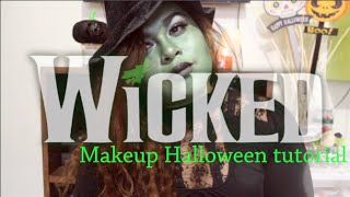 Makeup for Halloween 2014/Wicked ELPHABA Thumbnail