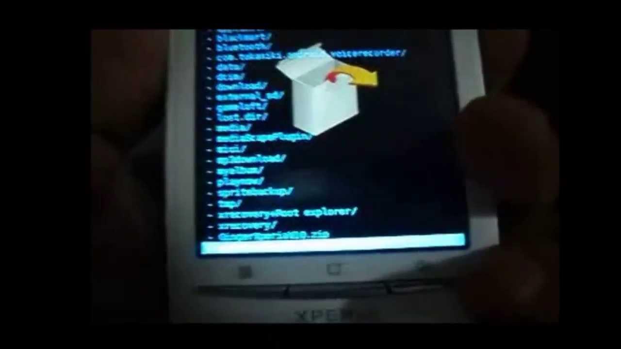 como rootear e instalar android 2 3 7 en se xperia x8 x10