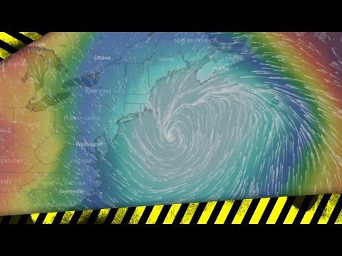 Record-Setting Cyclone on Track to East Coast