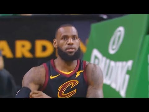 LeBron James Shuts Up Celtics Fans Booing Him!