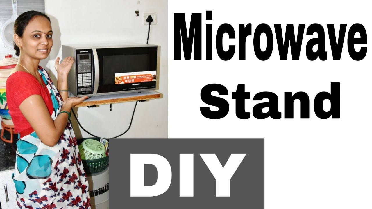 microwave wall mounting idea how to install microwave stand