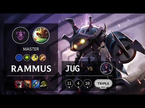 Rammus Jungle vs Elise - EUW Master Patch 10.16