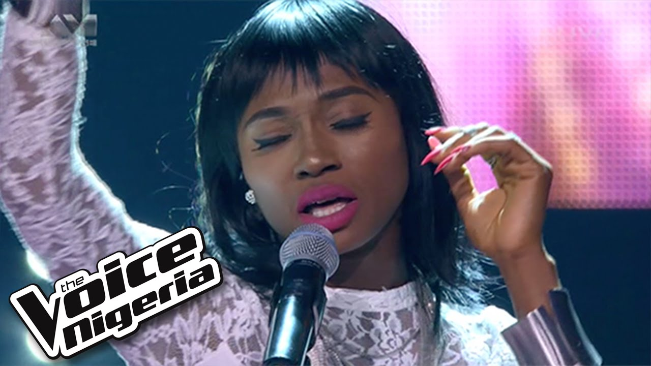 """Linda 1nneka sings """"Chandelier"""" / Live Show / The Voice Nigeria ..."""