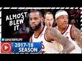 LeBron James amp Isaiah Thomas Full Highlights vs Magic 2018 01 18 37 Pts Combined