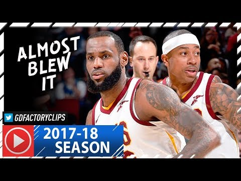 LeBron James & Isaiah Thomas Full Highlights vs Magic (2018.01.18) - 37 Pts Combined