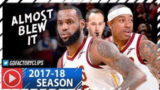 LeBron James & Isaiah Thomas Full Highlights vs Magic (2018.01.18) - 37 Pts Combined