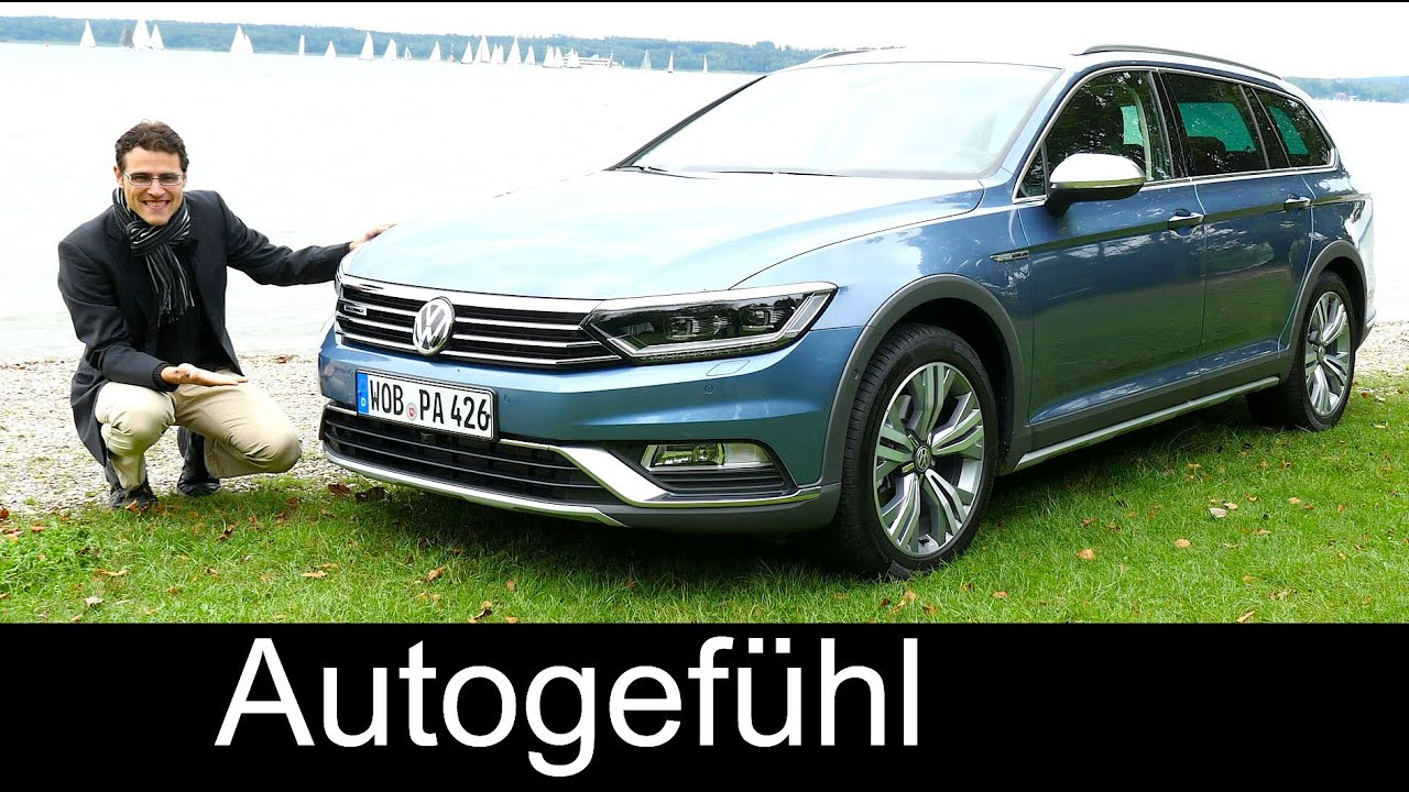 New Vw Volkswagen Passat Alltrack Full Review Test Driven