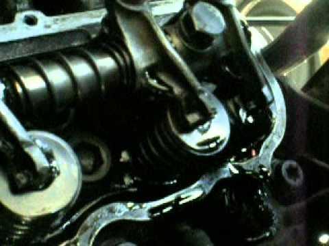 TREN DE VALVULAS FUNCIONANDO (MOTOR DE RANGER 1988 FORD 2.9L V6 140HP)