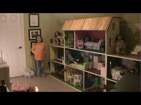 american girl doll house youtube