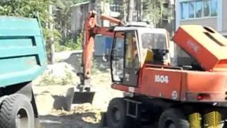 Работы над фундаментом на лесная(, 2011-09-15T07:22:55.000Z)