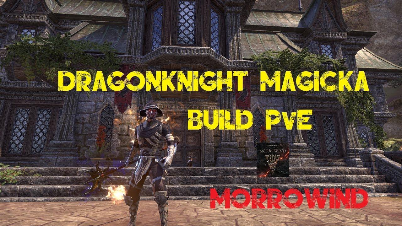 Magicka Dragonknight Build