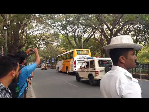 Indian Cricket Team Arriving To Chinnaswamy Stadium, Bangalore | Ind Vs Aus T20