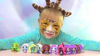 Куклы малышки Монстер Хай Минис Monster High doll minis открываем пакетики с сюрпризами