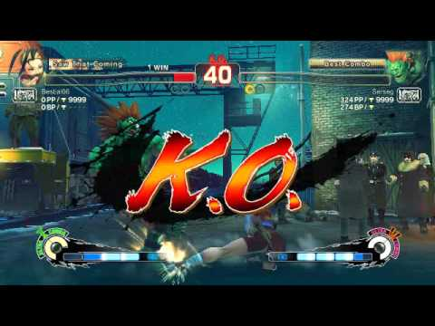 Ultra Street Fighter IV battle: Ibuki vs Blanka |