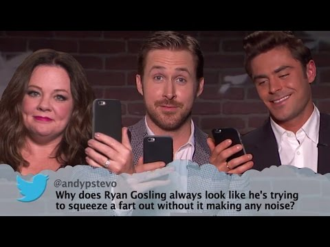Zac Efron, Ryan Gosling & MORE Celebs Read Mean Tweets