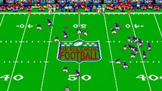 MicroLeague Football: The Coach's Challenge - Deluxe Ed. (MicroLeague) (MS-DOS) [1992] [PC Longplay]