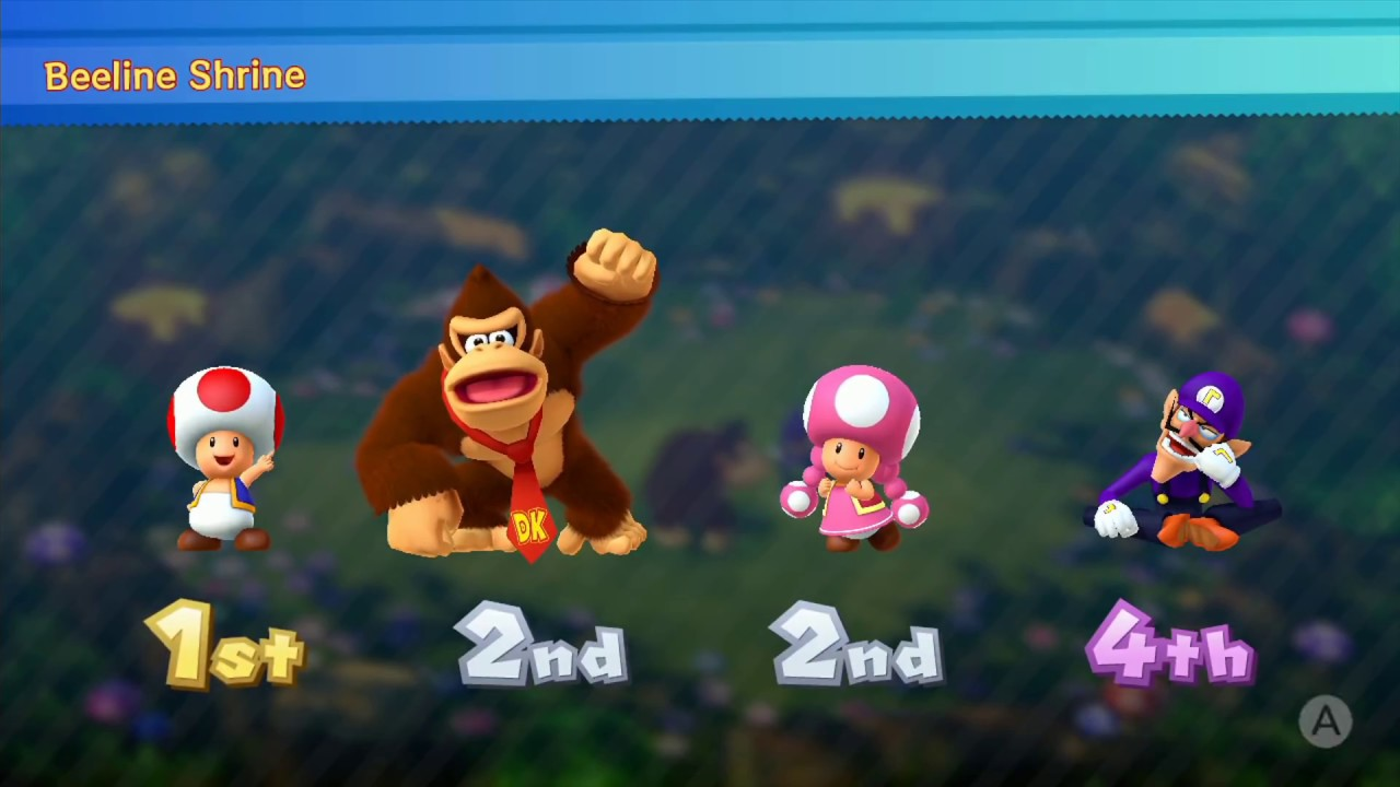 Mario Party 10 Coin challenge 7 Rounds | Donkey Kong ...