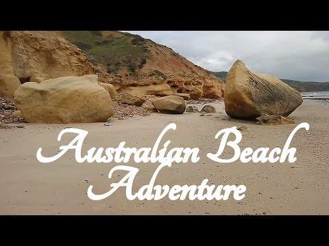 ASMR Australian Beach Adventure with Voiceover ☀365 Days of ASMR☀