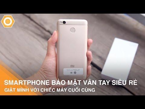 Top 5 Smartphone bảo mật vân tay siêu rẻ - Giật mình với chiếc máy cuối cùng