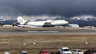 "Antonov AN-225 ""Mriya"" visits Anchorage (With ATC Audio)"