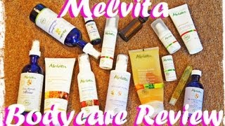 Melvita Bodycare Review - BODY SCRUB MILK CONTOURING SERUM LIP BALM ARGAN OIL WITH GERANIUM Thumbnail