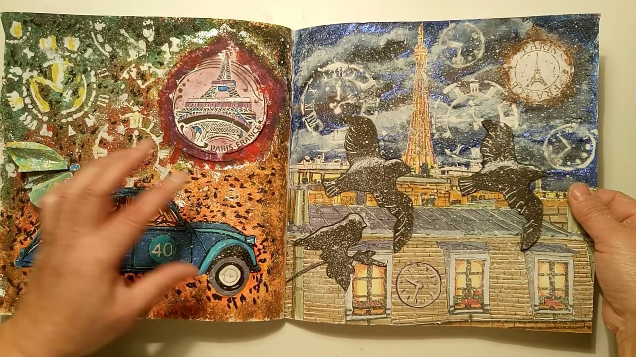 Paris secret de zo de las cases coloriage pour adulte for Booking secret de paris