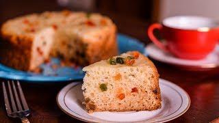 Tutti Fruity Cake | Eggless Tutti Fruity Vanilla Sponge Cake |Satisfying Cake ASMR Recipe