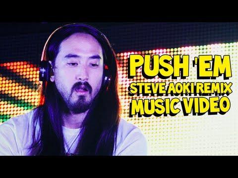 Push 'Em (Steve Aoki & Travis Barker Remix) MUSIC VIDEO - Travis Barker & Yelawolf