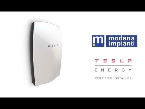 Installazione Tesla Powerwall accumulo fotovoltaico - Modena Impianti srl