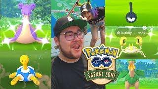 MY BEST SHINY DAY EVER IN POKÉMON GO EVER! (Pokémon GO Sentosa Safari Zone)