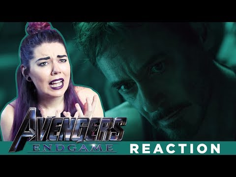 Avengers: Endgame - TRAILER #2 REACTION