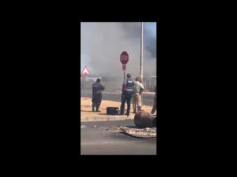 HECTIC: Attempted Land Grab In Hermanus South Africa